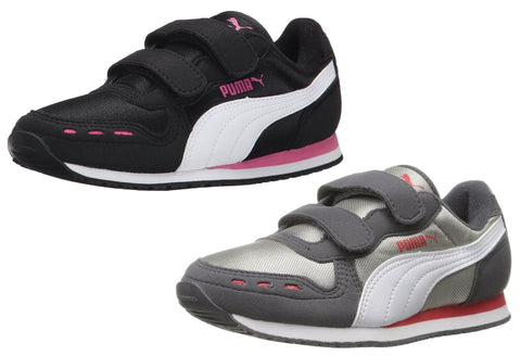 Puma Kid Cabana Racer Mesh V Kids Sneaker Shoes (Toddler/Little Kid)