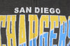 San Diego Chargers NFL Football Mens Split Formation Fleece Hoodie, Gray