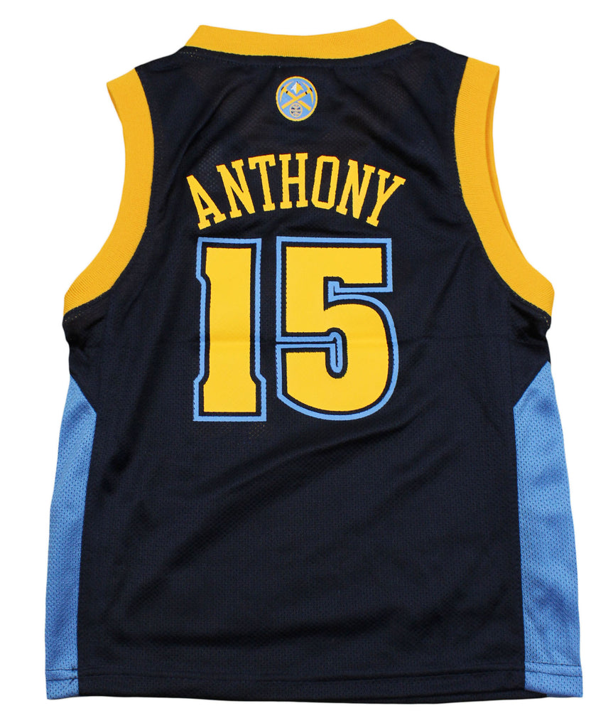 bd32096f2 Adidas NBA Kids Denver Nuggets Carmelo Anthony   15 Replica Jersey - Navy.  Previous