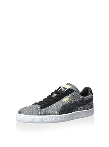 Puma Men's Suede Mis-Match Round Toe Suede Sneakers