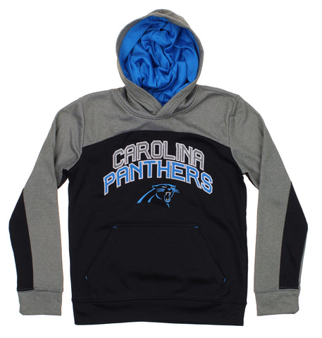 NFL Youth Carolina Panthers Ellipse Pullover Sweatshirt Hoodie ea1dc437a