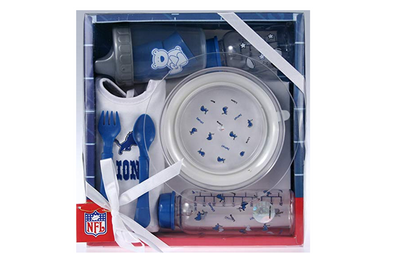 Detroit Lions NFL Football Newborn Baby Necessities Gift Set