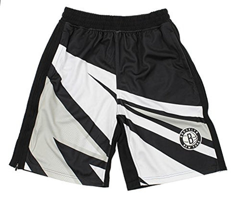 Zipway NBA Men's Brooklyn Nets MotorCross Athletic Shorts