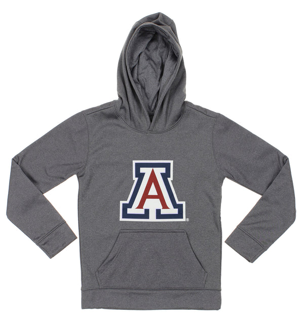 NCAA Youth Arizona Wildcats Pullover Grey Hoodie