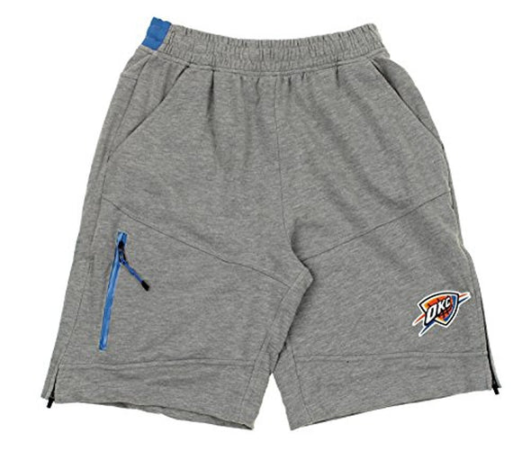 Zipway NBA Men's Oklahoma City Thunder French Terry Athletic Shorts
