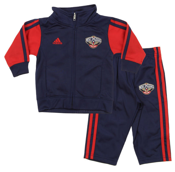Adidas NBA Infants New Orleans Pelicans Full Court Track Jacket & Pants Set
