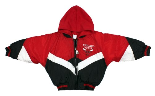 Chicago Bulls NBA Basketball Toddlers Hooded Bomber Coat – Fanletic 469c9765c6