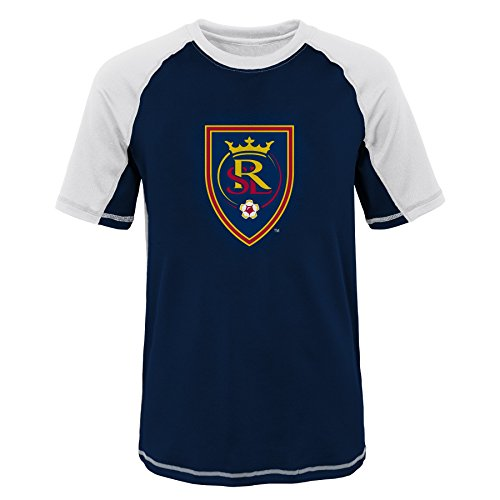 Outerstuff MLS Youth Boys (8-20) Real Salt Lake Short Sleeve Rash Guard