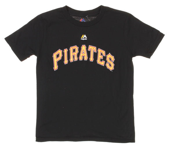 Outerstuff MLB Youth Pittsburgh Pirates Andrew McCutchen #22 Player Tee, Black