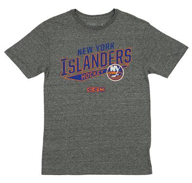 CCM NHL Men's New York Islanders No Mercy Distressed Tri-Blend T-Shirt