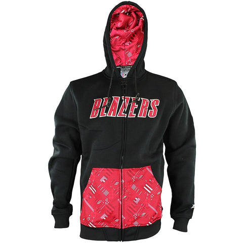 Zipway NBA Men's Portland Trail Blazers Signature Basics Full Zip Fleece Hoodie
