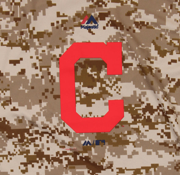 Outerstuff MLB Youth Cleveland Indians Digi Camo Short Sleeve T-Shirt, Brown