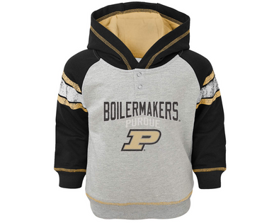 Outerstuff NFL Infants Purdue Boilermakers Classic Stripe French Terry Sweater