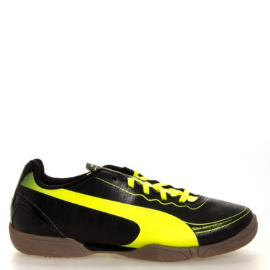 PUMA Evospeed 5.2 IT Little Kid / Big Kid Soccer Cleats Shoes - Black / Yellow