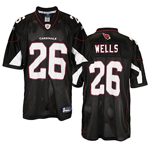 8dfbf7724685 Reebok NFL Men s Arizona Cardinals Beanie Wells  26 Replica Jersey ...