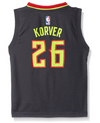 Adidas NBA Kids (4-7) Atlanta Hawks Kyle Korver #26 Away Player Replica Jersey