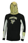 NHL Youth Pittsburgh Penguins Full Zip Helmet Masked Hoodie, Black