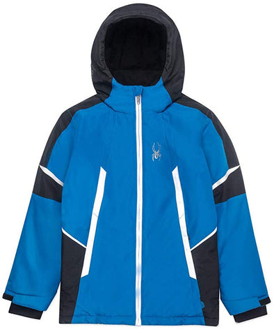 Spyder Little Kid's Boys Big City to Slope Full Zip Hooded Jacket, Color Options