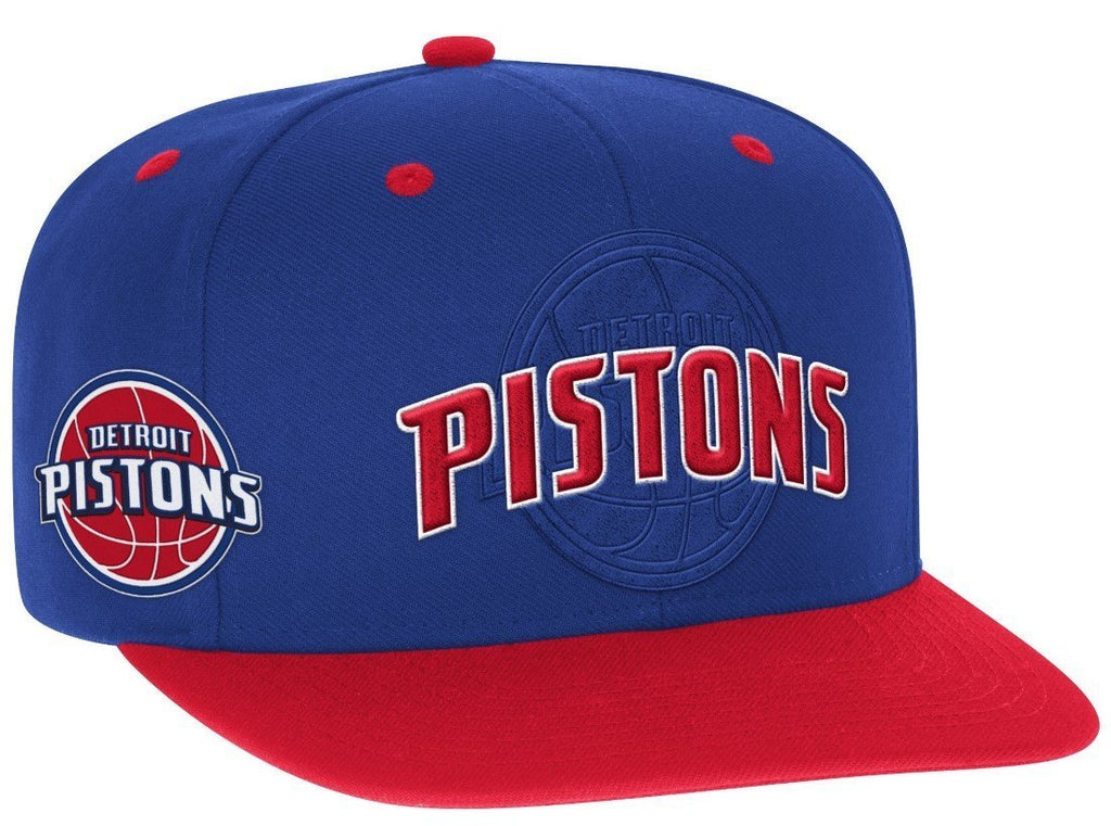 wholesale dealer 03561 a5f3f ... usa adidas nba mens detroit pistons 2016 draft day authentic snap back  hat 05787 3b284