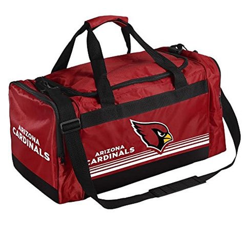 Arizona Cardinals Medium Striped Core Duffle Bag