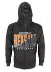 Cincinnati Bengals NFL Football Mens Split Formation Fleece Hoodie, Gray