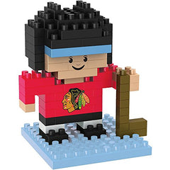 NHL Chicago Blackhawks Mini BRXLZ Player Building Blocks