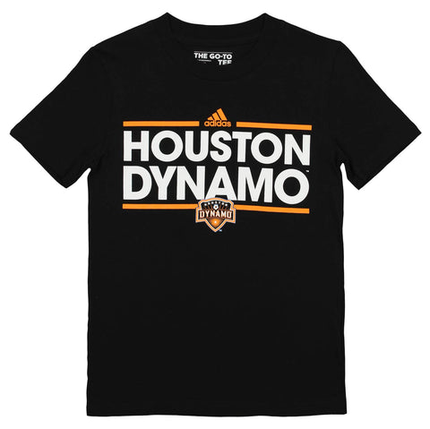 Adidas MLS Youth Houston Dynamo Short Sleeve Dassler Go-to Tee