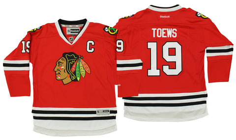 c3c77c60c49 Reebok NHL Youth Chicago Blackhawks Jonathan Toews #19 Premier Jersey