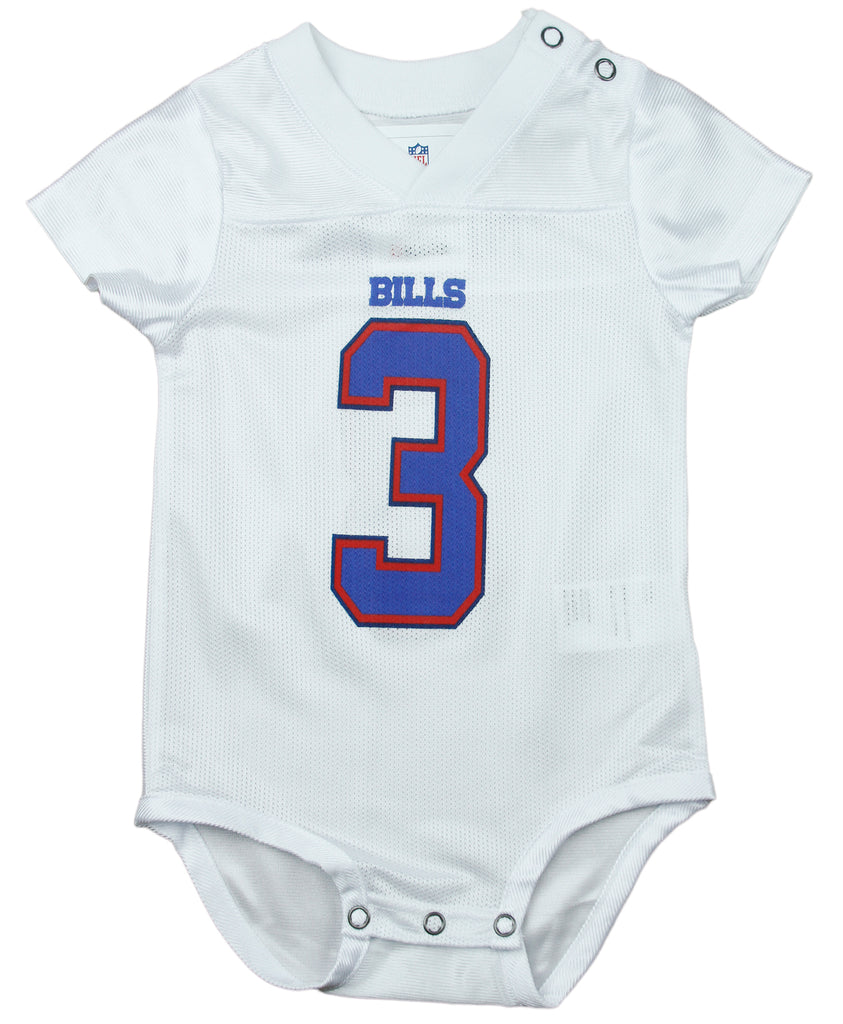 Discount NFL Infants Buffalo Bills EJ Manuel # 3 Creeper Jersey White