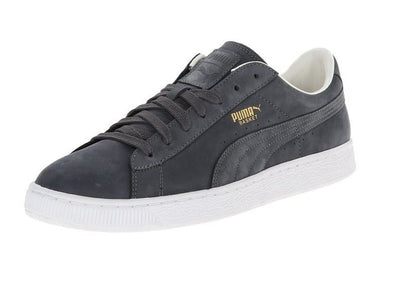 Puma Men's Basket Citi Series Nubuck Sneaker Fashion Shoes, Grey & Khaki