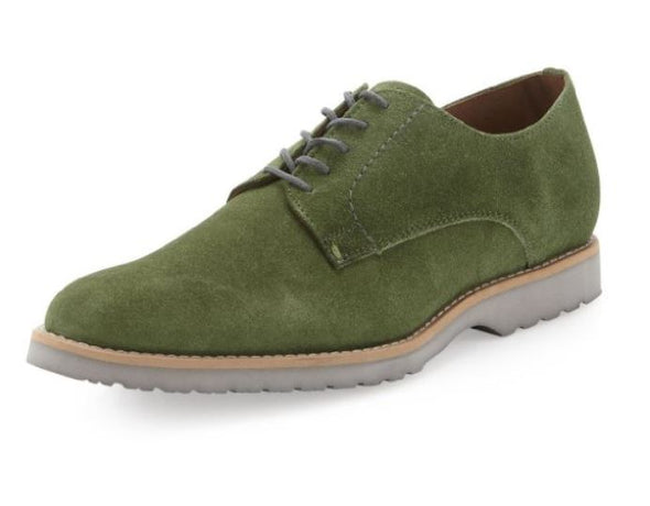 JD Fisk Victor Men's Oxfords Suede Lace Up Casual Dress Shoes - Two Colors
