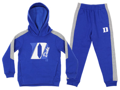 Outerstuff NCAA Toddlers Duke Blue Devils Fullback Fleece Set, Blue