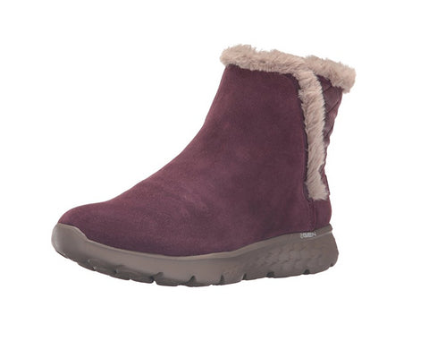 Skechers Performance Women's On The Go 400 Cozies Winter Boot, Burgundy