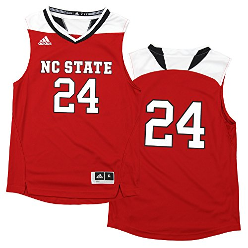 a152c0a7478 Adidas NCAA Youth North Carolina State Wolfpack  24 Replica Basketball  Jersey