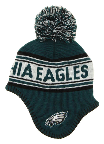 Outerstuff NFL Infants Philadelphia Eagles Jacquard Knit Pom Hat