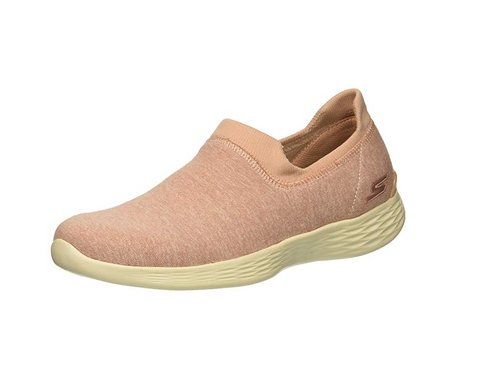 Skechers Women's You Define Slip On Sneaker, Light Pink