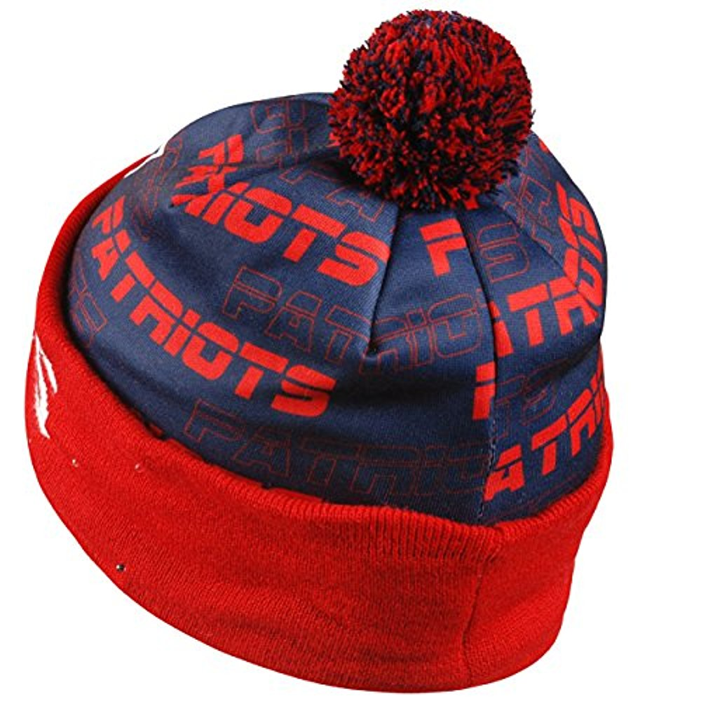 efd88a42 Forever Collectibles NFL Adult's New England Patriots Light Up Printed  Beanie