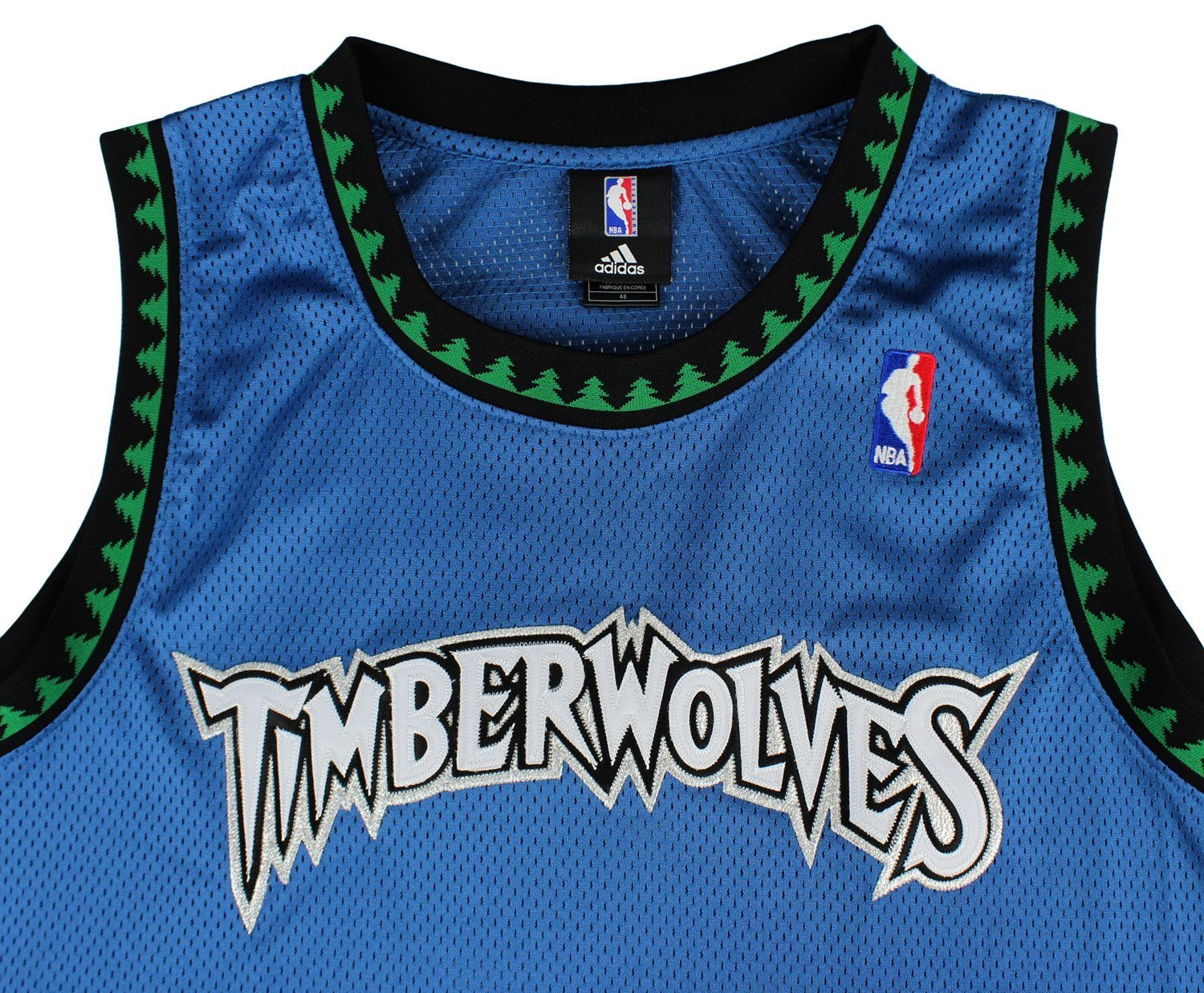Adidas NBA Men/'s Minnesota Timberwolves Blank Jersey Black