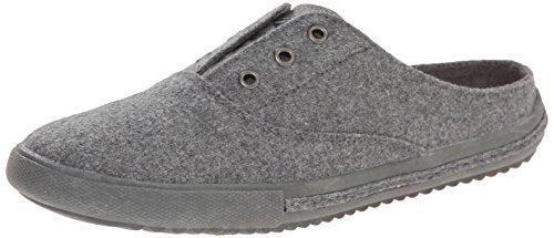 Rocket Dog Women's Pompeii Heather Fabric Flats, Grey, 6.5 M US