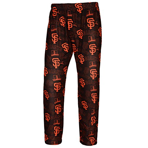 Forever Collectibles MLB Men's San Francisco Giants Repeating Logo Lounge Pajama Pants