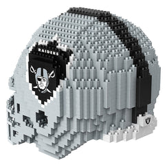 NFL Oakland Raiders Mini BRXLZ Helmet Building Blocks