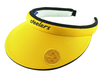 NFL Women's Pittsburgh Steelers Tension Visor (Yellow)