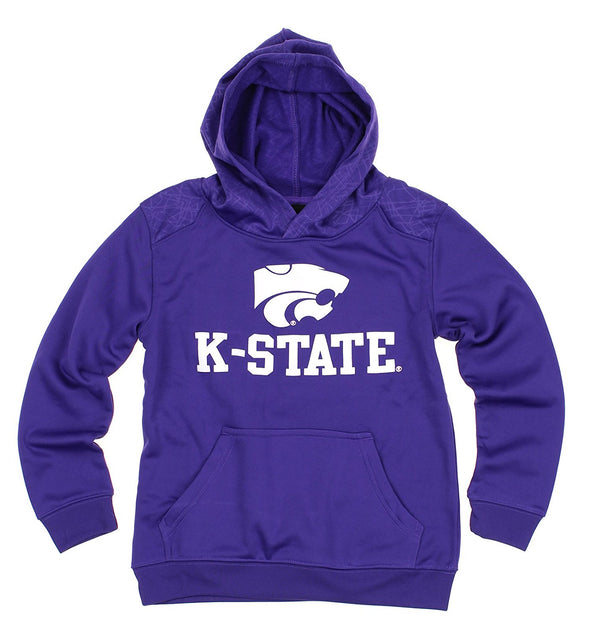 NCAA Youth Kansas State Wildcats Performance Hoodie