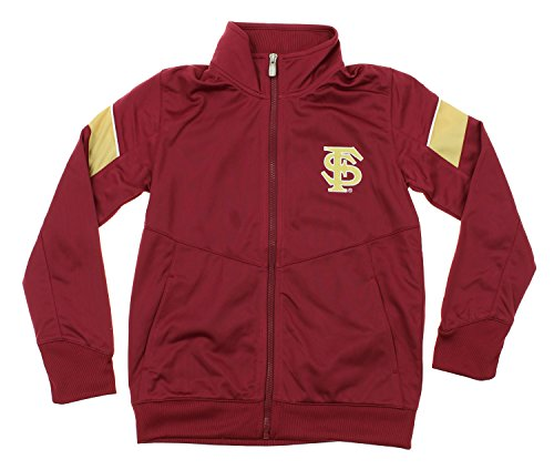 NCAA Youth Florida State Seminoles Precision Zip Up Track Jacket