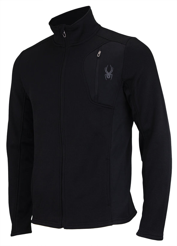 Spyder Men's Raider Full Zip Sweater, Color Options