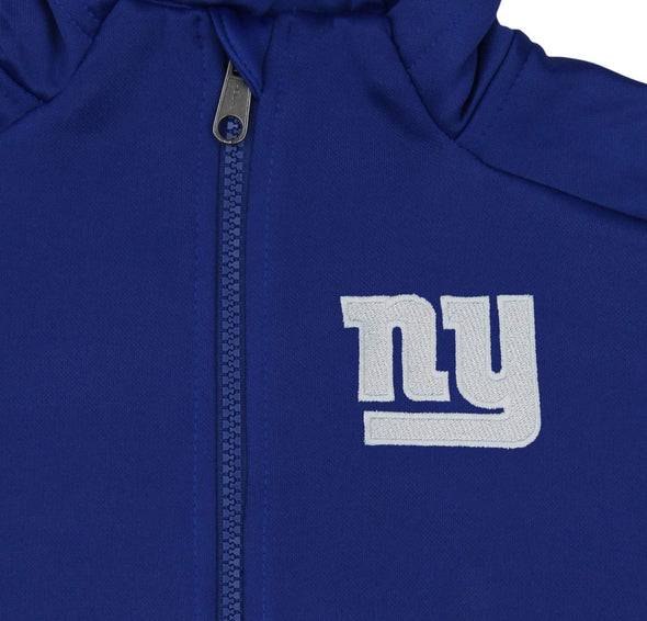 Outerstuff NFL Youth/Kids New York Giants Performance Full Zip Hoodie