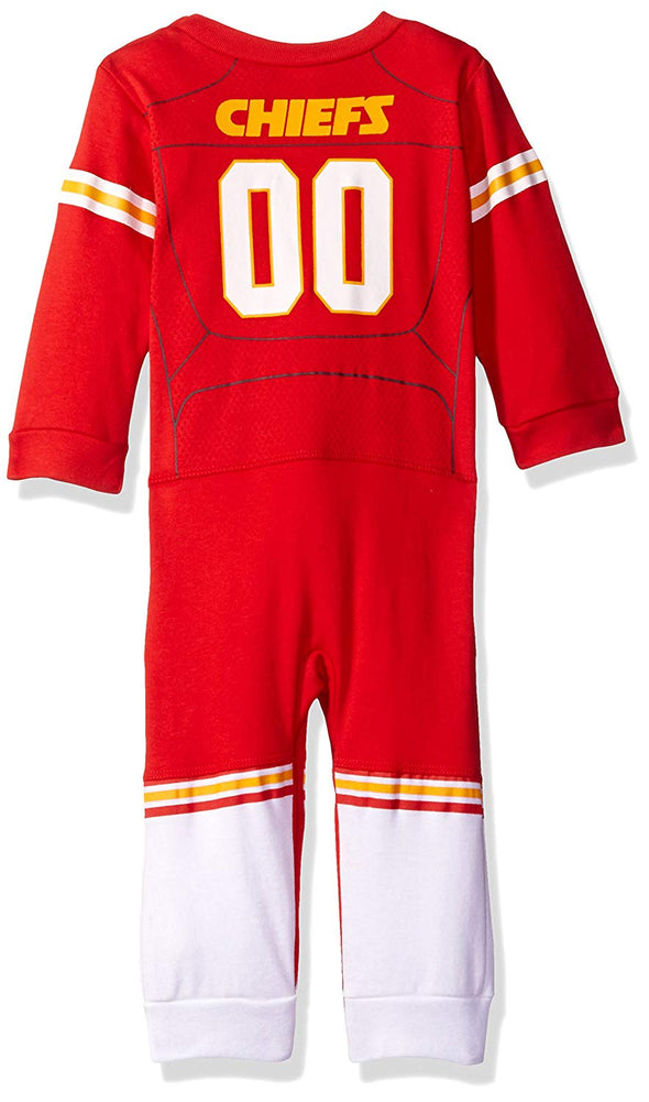 NFL Infants Kansas City Chiefs Footless Footysuit, Red