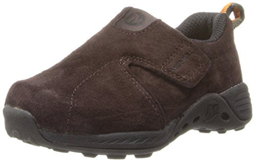 Merrell Toddlers Jungle Moc Sport A/C Sneaker,Brown/Orange