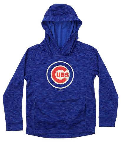 Gen 2 MLB Youth Chicago Cubs Performance Fleece Primary Logo Hoodie