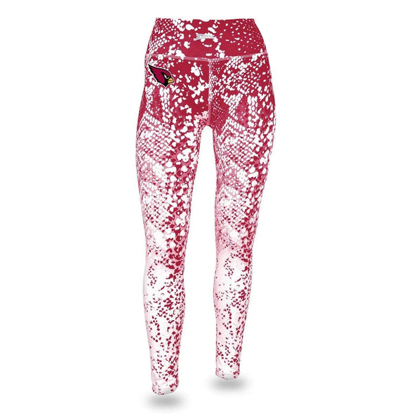Zubaz NFL Women's Zubaz Arizona Cardinals Logo Leggings